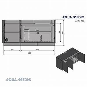 Glasstärke Aquarium Berechnen : aqua medic xenia 160 160 x 65 x 55cm ~ Haus.voiturepedia.club Haus und Dekorationen