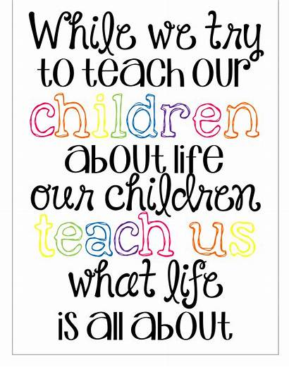 Preschool Quotes Childhood Early Teachers Education Teacher