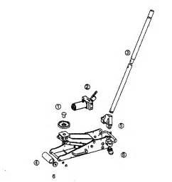 craftsman 2 ton floor jack parts model 21450239 sears
