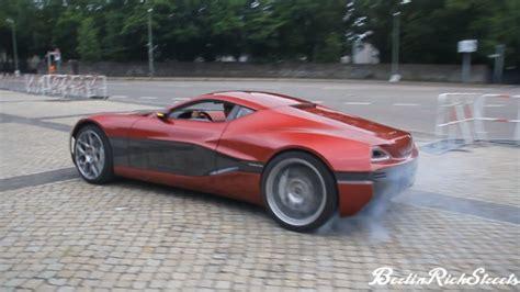 Drifting And Smoking Tires