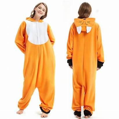 Onesie Fox Animal Onesies Adult Pajamas Pjsbuy