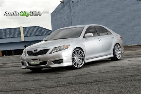 Toyota Camry Rims by 2010 Toyota Camry Rennen Wheels Rims Crl 80 Brush Silver