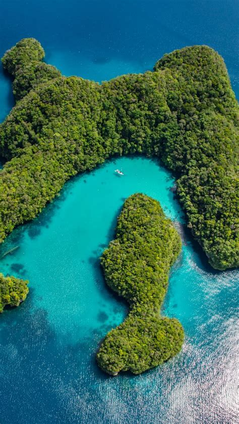 wallpaper palau philippines ocean islands  nature