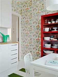 Schöne Tapeten Für Die Küche : k chen tapeten designs f r jeden geschmack ~ Sanjose-hotels-ca.com Haus und Dekorationen