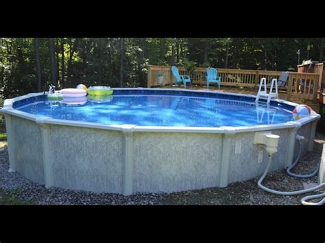 How To Install An Above Ground Pool  See Outlook