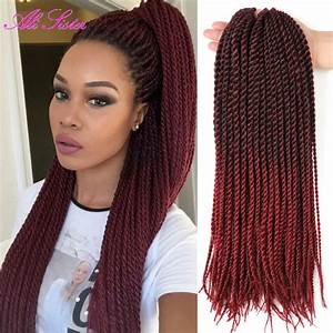 Senegalese Twist With Red Color | www.pixshark.com ...