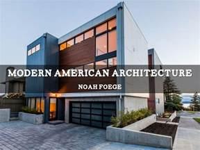 modern american architecture  noahfoege