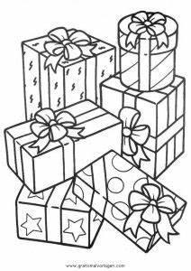 Weihnachtsgeschenke Zum Ausmalen : geschenke 23 gratis malvorlage in geschenke weihnachten ~ Watch28wear.com Haus und Dekorationen