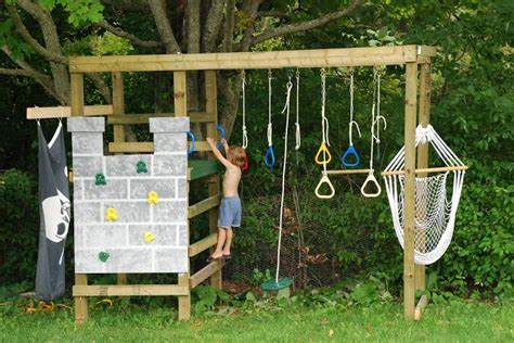 Diy Build Your Own Play Structure, Climbing, Swinging And