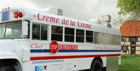 stage de cuisine avec un grand chef tony lance un food truck crème la crème à san
