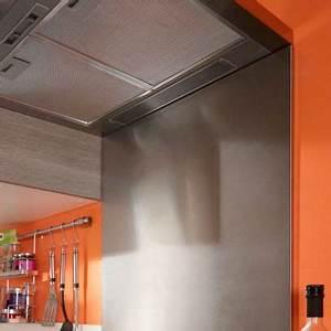credence inox bricoman fabriquer une armoire paroi With carrelage adhesif salle de bain avec acheter spot led