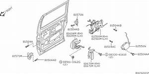 Nissan Door  U0026 Fix Door Latch Mechanism S