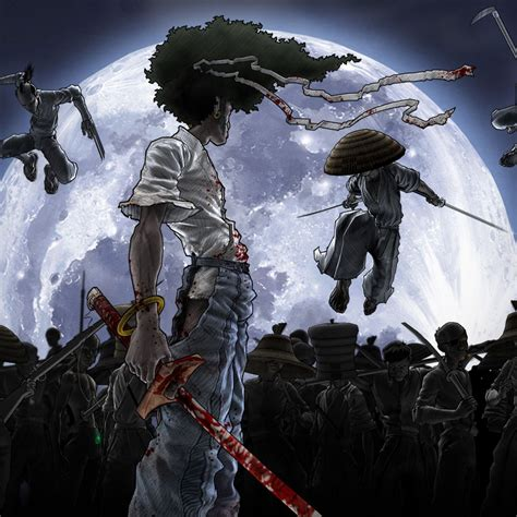 afro samurai hd wallpaper image  ipad air  cartoons