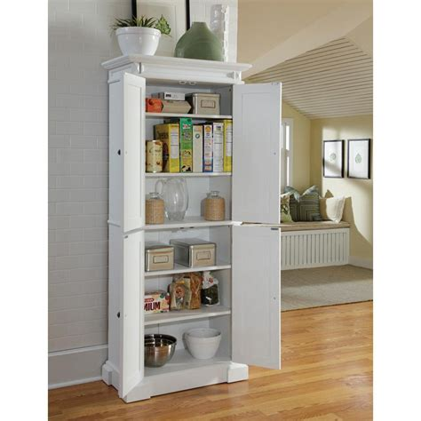 home styles americana white pantry pantry cabinets  hayneedle