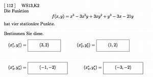Stationäre Punkte Berechnen : station re punkte nullstellen einer funktion f x y bestimmen mathelounge ~ Themetempest.com Abrechnung