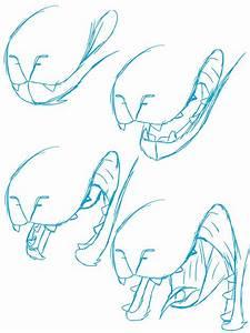 Excation Mouth Diagram  U2014 Weasyl