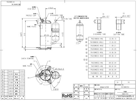 compressor hermetic rotary gmcc pa215m2as 4ku area cooling solutions