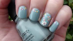 Gallery for gt simple flower nail designs