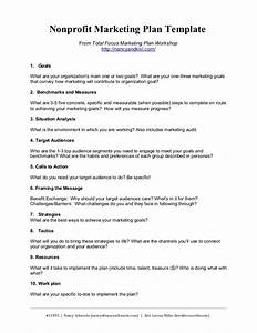 nonprofit marketing plan template summary With hospital marketing plan template