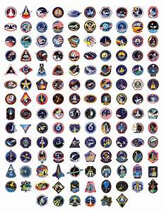 Space Shuttle Badges | All 135 space shuttle mission ...