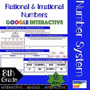 Going Paperless  This Rational  U0026 Irrational Number