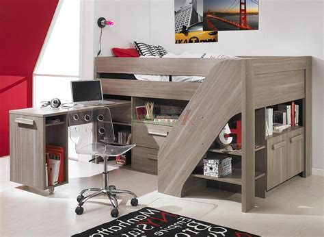 Desks With Storage For Adults by Loft Beds For Adults Coolest And Loveliest Ideas