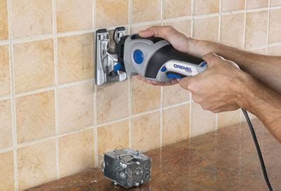 cutting tile with dremel dremel trio 6800 multi purpose cutter details