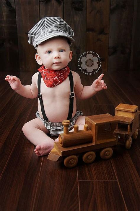 boys  birthday outfit newborn picture outfit cake