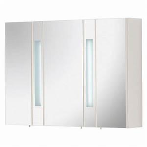 Spiegelschrank 110 Cm : fackelmann spiegelschrank arte7 110 cm wei eek a kaufen bei obi ~ Indierocktalk.com Haus und Dekorationen