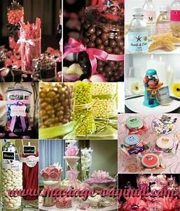Bar A Bonbon Mariage : des bonbons pour mon mariage mariage id es ~ Melissatoandfro.com Idées de Décoration