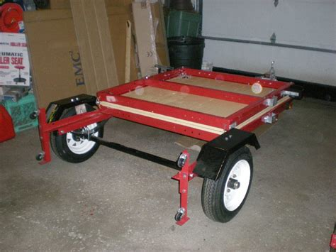 Foldable Boat Assembly by Folding 4x8 Flatbed Assembly Pics Mytractorforum