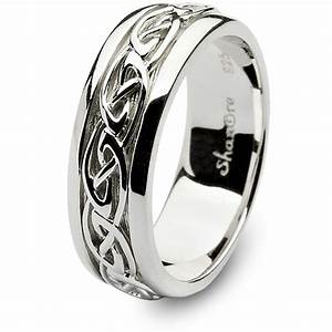 mens sterling silver celtic wedding ring sm sd11 With irish wedding rings how to wear