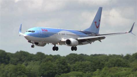 Arke Boeing 737-800 (split Scimitar Winglets) Landing