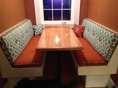 Custom Cushion Sewn Banquette Seat Bench By Hearthandhomestore