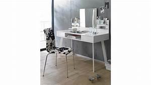 Tischplatte Weiß Hochglanz : schminktisch 6235 kommode computertisch spiegel in wei hochglanz lack ~ Frokenaadalensverden.com Haus und Dekorationen