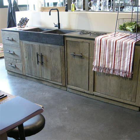 meuble de cuisine independant meuble cuisine indépendant bois le bois chez vous