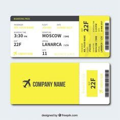 airline ticket template images ticket template