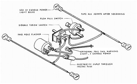 Two Prong Flasher Wire Diagram by Model T Ford Forum Turn Signal Trouble