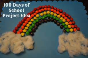 Rainbow School Project 100 Day Ideas