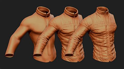 Tutorial How To Create Zbrush Cloth Seams Alpha