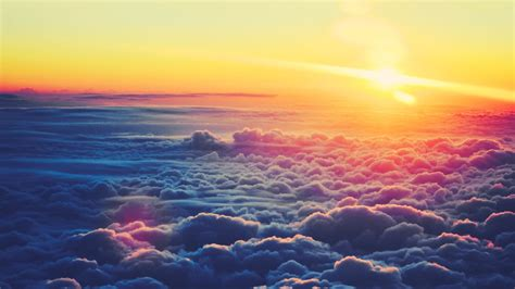 Sun And Clouds Wallpaper Pixelstalknet