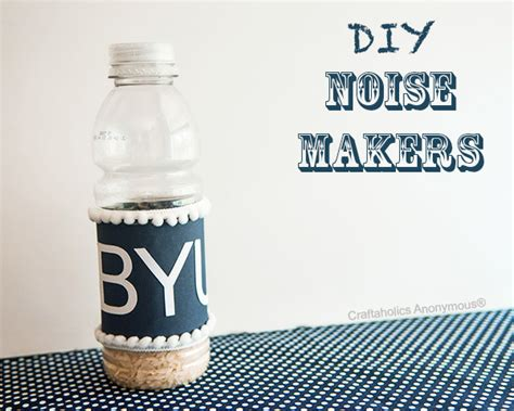 craftaholics anonymous noise maker  easy kid craft