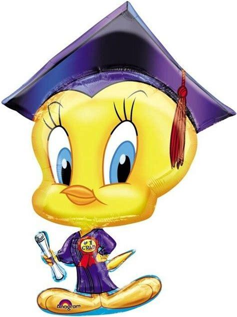 graduation  balloon tweety bird  grad congrats
