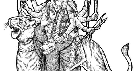 These Navratri And Dussehra Festival Coloring Pages Are