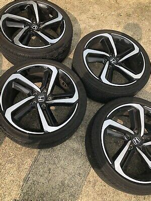 """Edmunds also has honda accord hybrid pricing, mpg, specs, pictures, safety features, consumer reviews and more. 19"""" OEM Honda Accord Sport wheels rims black 64127 2018 ..."""