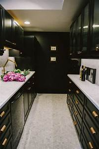 53 stylish black kitchen designs decoholic With kitchen colors with white cabinets with wall art mockup generator