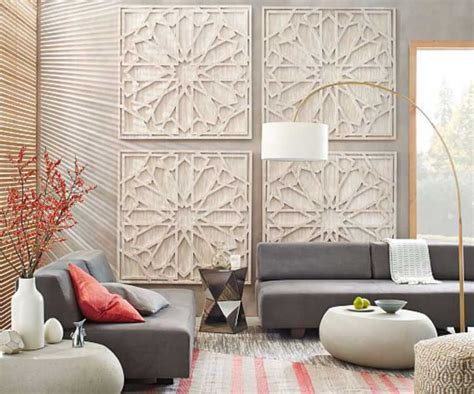 How To Decorate A Large Living Room Wall With Wood Panels