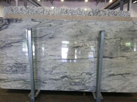 white thunder granite from daltile our counters