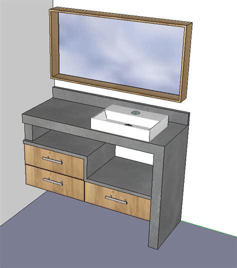 placo hydrofuge cuisine meuble de salle de bain copain des copeaux
