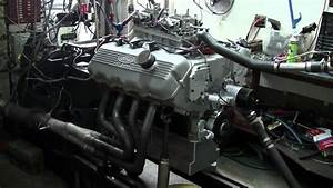 527 Cubic Inch 427 Ford Sohc On The Dyno - 870 Horsepower